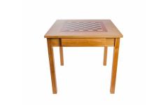 Шахматный стол Турнирный, дуб, без фигур