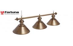 Светильник Fortuna Toscana bronze antique 3 плафона