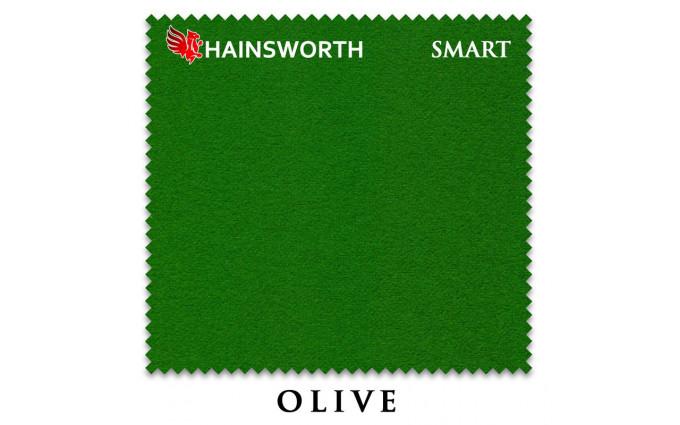 Сукно Hainsworth Smart Snooker 195см Olive