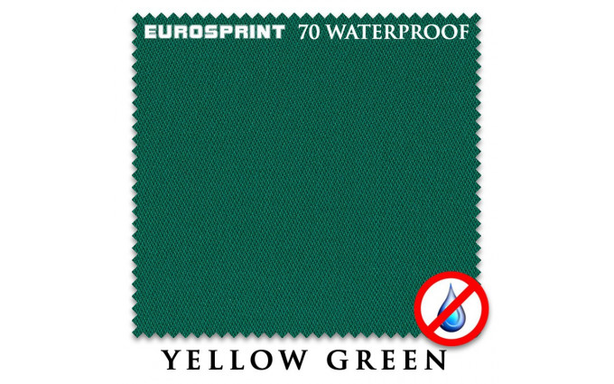Сукно Eurosprint 70 Waterproof 198см Yellow Green