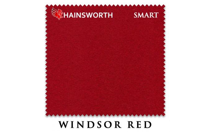 Сукно Hainsworth Smart Snooker 195см Windsor Red