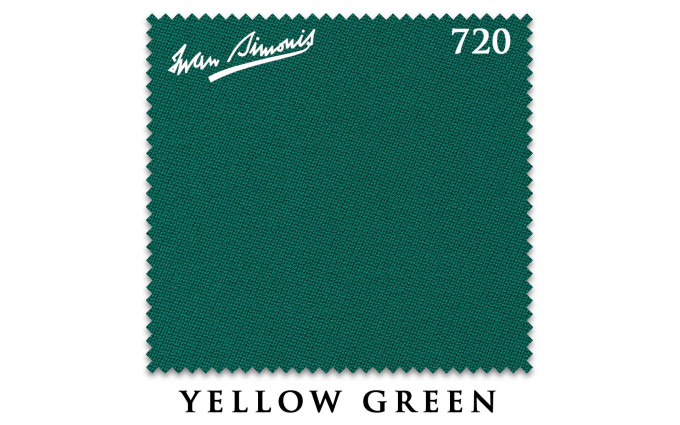 Сукно Iwan Simonis 720 203см Yellow Green
