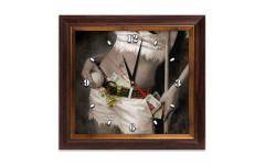 Часы Бильярд AFG7814 38х41см