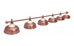Светильник Crown Red Bronze 6 плафонов