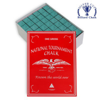Мел National Tournament Chalk Green 144шт.