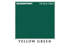 Сукно Eurosprint 70 Rus Pro 198cм Yellow Green