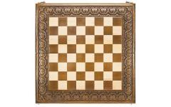 Доска шахматная резная Лотос 60, Haleyan