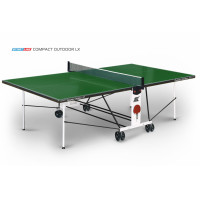 Теннисный стол Start Line Compact Outdoor LX green