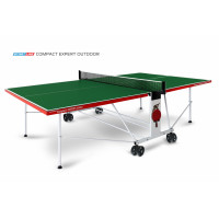 Теннисный стол Start Line Compact Expert Outdoor green